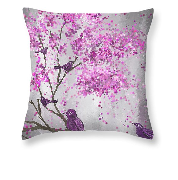 Lavender Throw Pillows